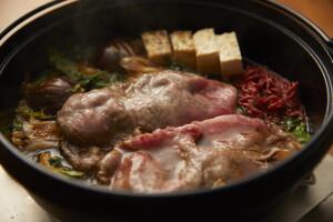 香水亭,すき焼き,熟成和牛,ドライエイジング,東京