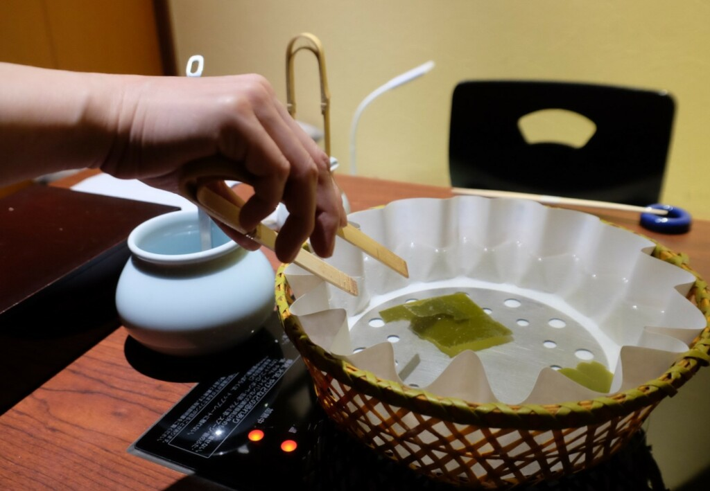 mihaku,鍋,しゃぶしゃぶ,取り分け,トング